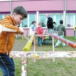 Kleine Künstler verschönern Ihre Schule